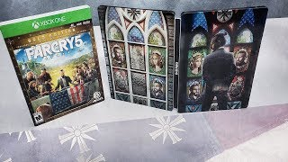 FAR CRY 5 GOLD EDITION UNBOXING - SEASON PASS GIVEAWAY