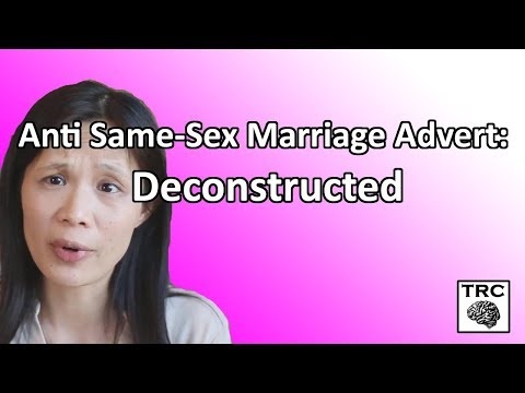 Anti Same-Sex Marriage Advert: Deconstructed