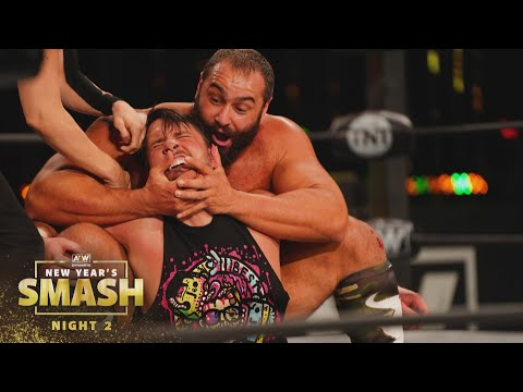 Was Miro too much for Chuck Taylor?   AEW New Year's Smash Night 2, 1/13/21