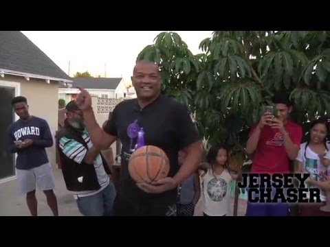 NBA Legend Marques Johnson Dunks on 60th Birthday!!!