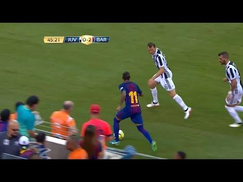 Neymar Jr Destroying Juventus - 22/07/2017 (Juventus vs Barcelona 1-2)