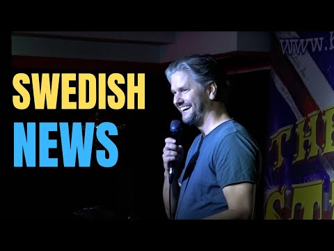 Swedish news in english | Fredrik Andersson standup