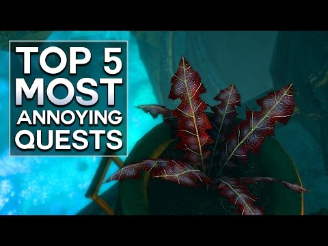 Skyrim - Top 5 Most Annoying Quests