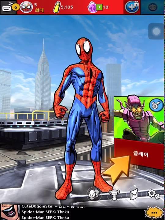 cùng chơi game người nhện ( chơi thử )