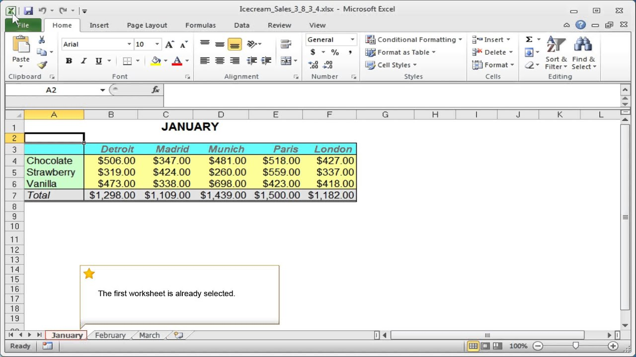 Excel Groups: Working With Worksheet Groups