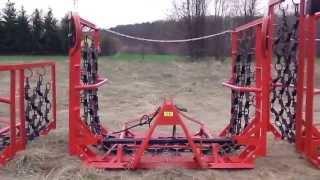 Włóka łąkowo polowa 2m, 4m, 5m, 6m, 8m Brona Maszyny rolnicze