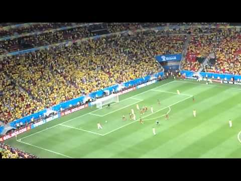 Fred Goal Brazil vs Cameroon FIFA World Cup 2014 Group A Fi