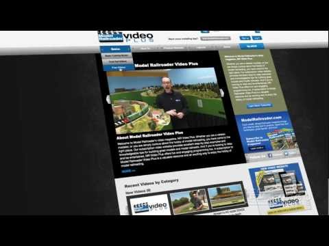 Welcome to Model Railroader Video Plus
