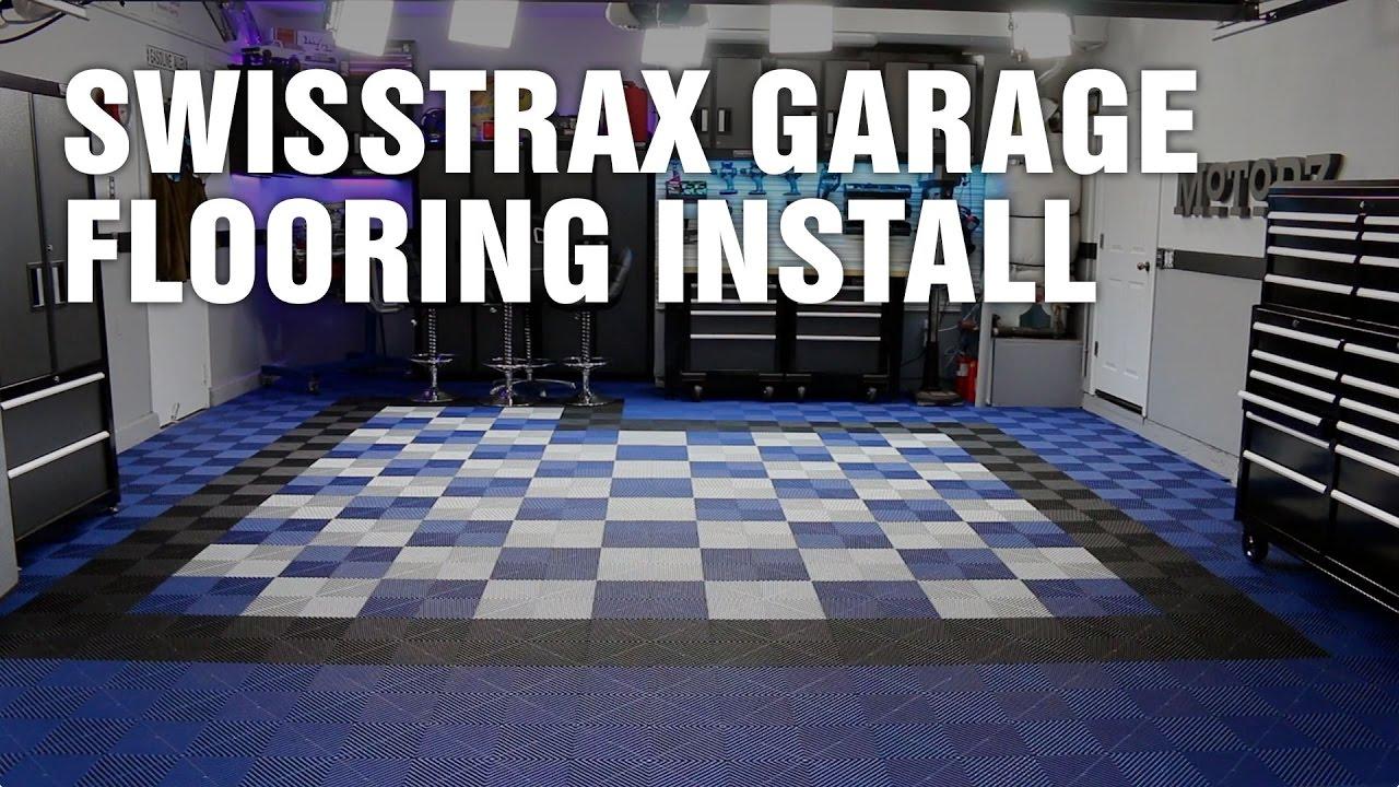 Swisstrax Garage Flooring Install You