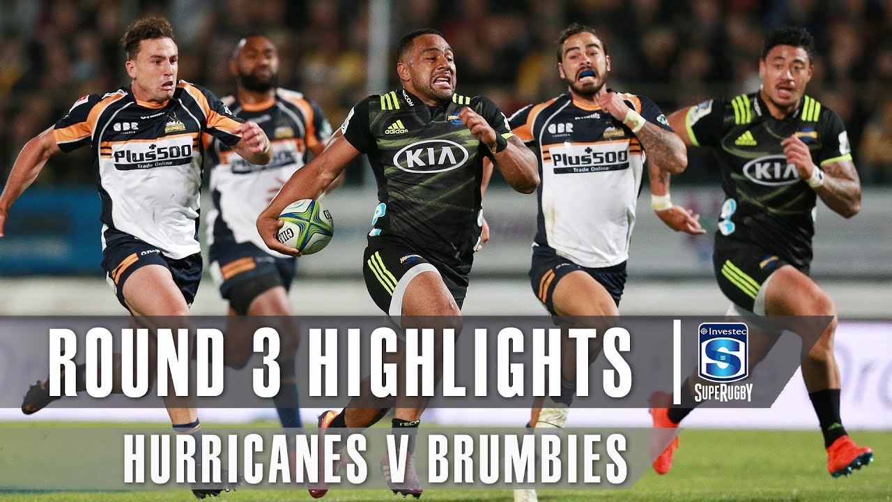 ROUND 3 HIGHLIGHTS: Hurricanes v Brumbies – 2019