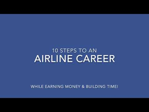 10 Steps to a Career as an Airline Pilot