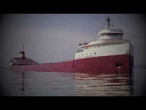 The Wreck of the Edmund Fitzgerald  Gordon Lightfoot HD w Lyrics