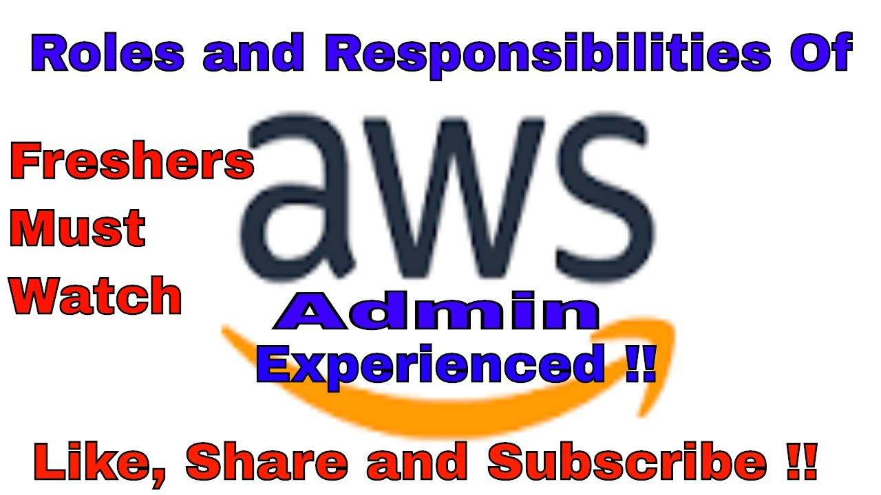 AWS Jobs Questions - #AWS ADMIN Roles & Responsibilities on Cloud - #New to  AWS MUST WATCH