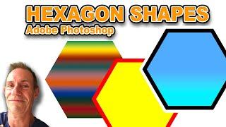 Photoshop CC Kullanım Kılavuzu öğretici Photoshop CC : Oluşturmak hexagon şekiller