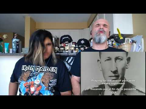 Slayer - Angel of Death (Lyric Video) [Reaction/Review]