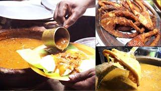செட்டிநாடு மண் பானை மீன் குழம்பு - karur | Tasty Idli and fish curry