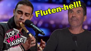 SURPRISING FLUTE AND BEATBOX AUDITION ON AMERICAS GOT TALENT 2021!