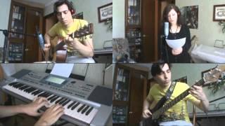 僕のチャンネルで初めて実際の歌ですよ。僕の友だち(まだ?)のSalaino...