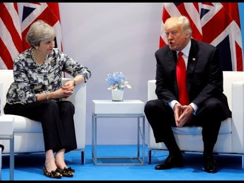 Theresa May to discuss Boeing-Bombardier dispute with Trump