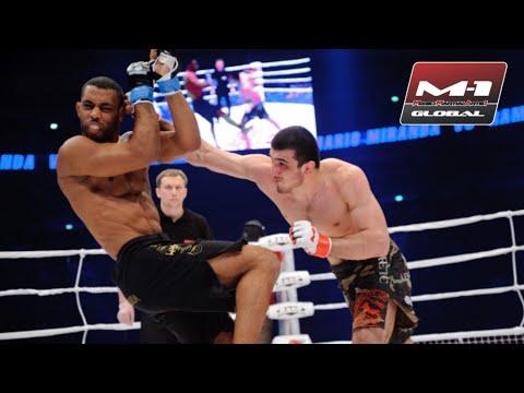 Горец нокаутировал американца из UFC! Рамазан Эмеев защитил чемпионский пояс против Марио Миранды!