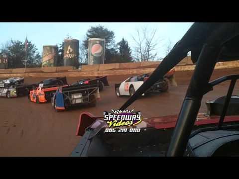 Ross White #1 | In Car Camera | 411 Motor Speedway | Jan 1 , 2014