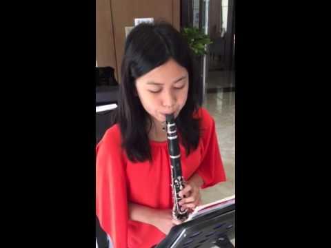 Bach's Minuet on Clarinet