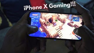 iPhone X Gaming!!!