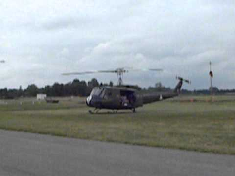 Huey helicopter from Vietnam war