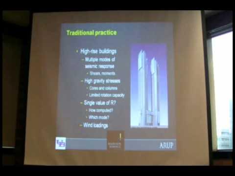 CTBUH 2008 Leader Presentation Videos, Andrew Whittaker, Seismic Design of High-Rise Buildings