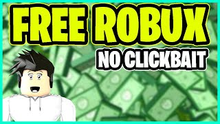 How to get free robux *No-ClickBait*2019 (Roblox)