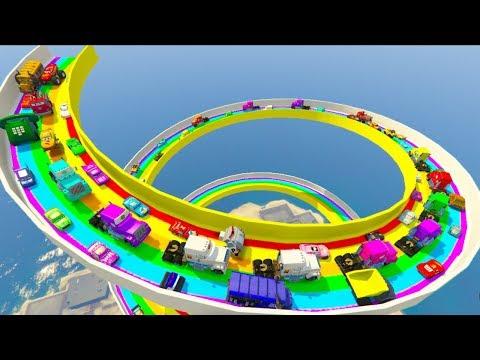 Monster McQueen Truck Hot Wheels Cars3 Mack & Friends All Cars Disneyland Toys Racers