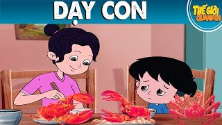 DẠY CON - Phim hoạt hình - Truyện cổ tích - Quà tặng cuộc sống - Khoảnh khắc kỳ diệu