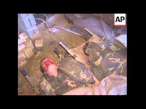 BOSNIA: SARAJEVO: HEAVY SHELLING KILLS 5 AND INJURES 11 PEOPLE