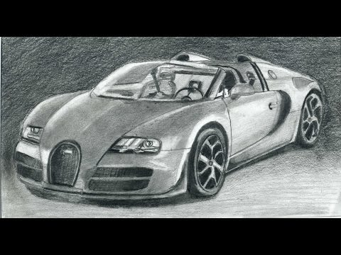 vote no on how to draw bugatti veyron sports car. Black Bedroom Furniture Sets. Home Design Ideas