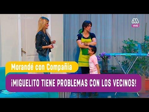 Miguelito se pelea con su vecina Oriana Marzoli - Morandé con Compañía 2016