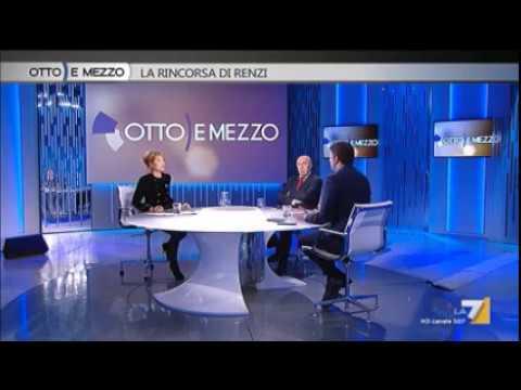 Matteo Renzi a Otto e Mezzo