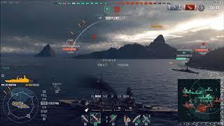 【WoWs】下手でも楽しい海戦ゲームリクエスト艦【陸奥】