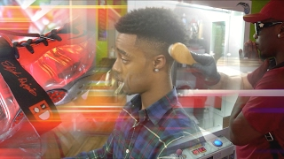 I GOT STEPH CURRY HAIRCUT!! COPPING RARE NEVER WORN 10 YEAR OLD HEAT W/ D&B Nation! - SHOE VLOG