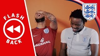 Lewis Baker & Nataniel Chalobah react to their England U21 training sessions | Flashback