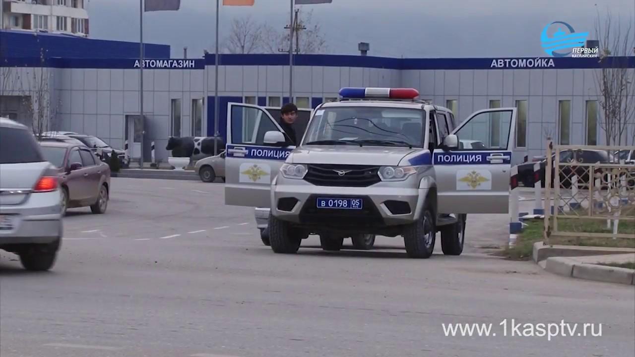 Сотрудники ГИБДД  Каспийска провели на дорогах города очередной рейд