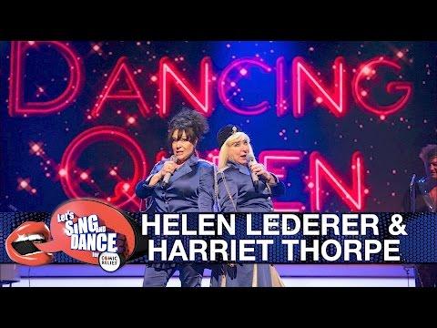 Helen Lederer & Harriet Thorpe perform Abba's Dancing Queen - Let's Sing and Dance for Comic Relief