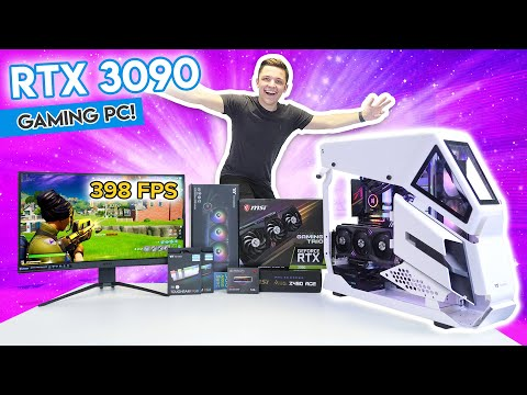 Insane RTX 3090 Gaming PC Build! [10+ Games TESTED! - Full 3090 Build Guide!]