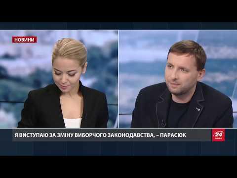Інтерв'ю з Володимиром Парасюком про бійку, яка сталася під час протестів під ВР