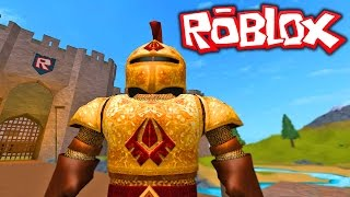 HOW TO BECOME A KNIGHT SIMULATOR!! Roblox Becoming A Knight!! (Roblox Gameplay)