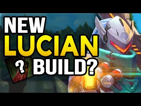 New UNKILLABLE CARRY LUCIAN Build (League of Legends)
