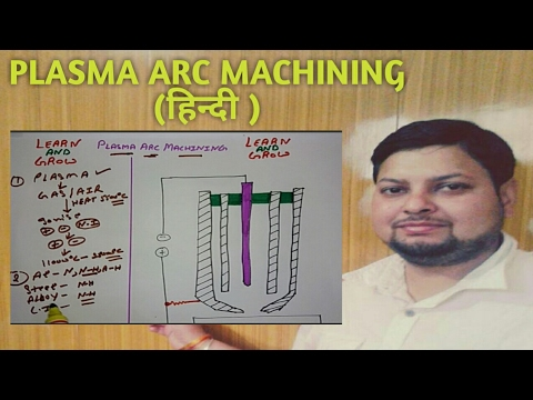 PLASMA ARC MACHINING(BASIC TERMS AND WORKING)(हिन्दी )! LEARN AND GROW