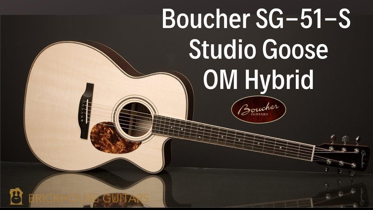Boucher Guitar Demo With J P Cormier Studio Goose 51 S Brickhouse Guitars Youtube