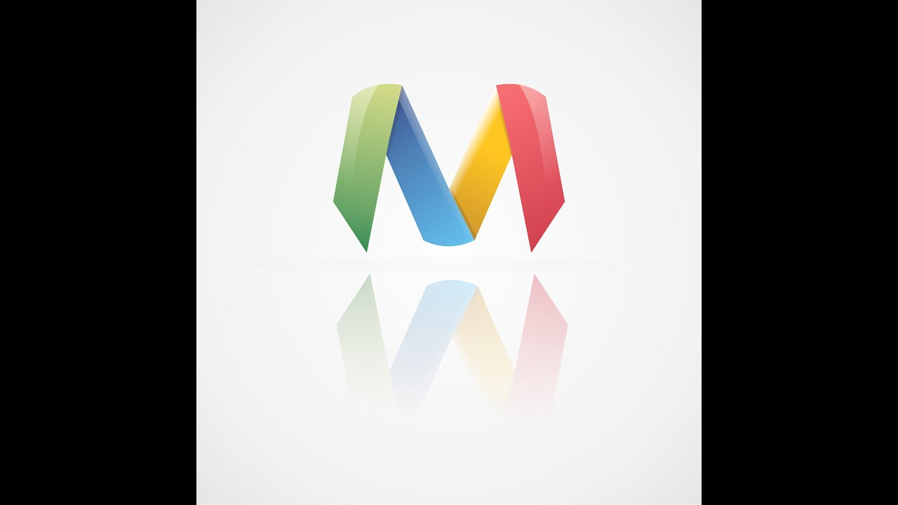 M Logo 3d How to Make Pro...