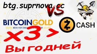 Майним Bitcoin Gold 1080Ti/1060*3. Выгодней чем Zcash!!! Памп Голда появился на bittrex.com