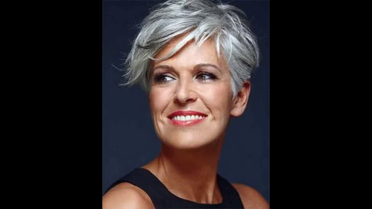 Sassy short haircuts for older women Sassy